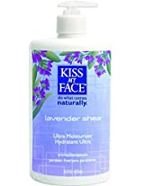 Kiss My Face Moisturizer Lavender & Shea Butter 16 oz (2-pack)