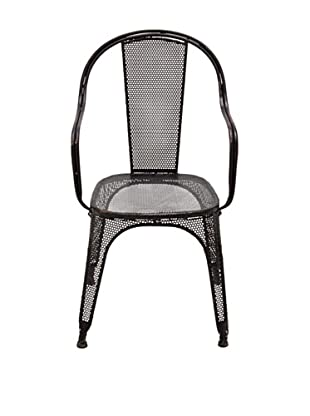 Metal Black Chair
