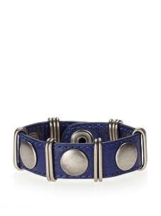 Rebecca Minkoff Electric Blue Loop and Stud Bracelet