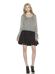 Preen Line Women's Holly Long Sleeve Sweater (Grey)