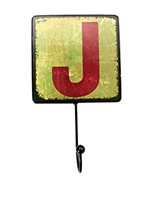 LO+DEMODA Wanddeko Letters Metal J