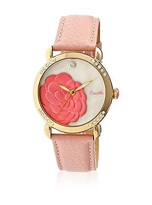 Bertha Uhr mit Japanischem Quarzuhrwerk Daphne rosa 41 mm