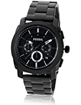Fossil Machine Chronograph Black Dial Men's Watch - FS4552