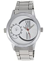Giordano Analog White Dial Men's Watch - 60073 WHT (P12401) (OCTOBER)