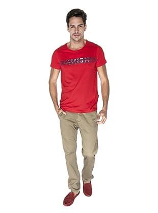 Giorgio Di Mare Camiseta Durando (Rojo)