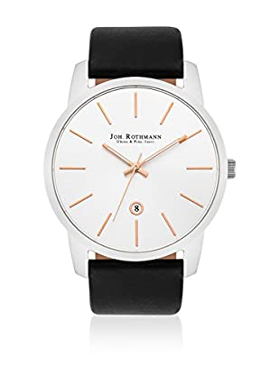 Joh. Rothmann Reloj con movimiento cuarzo japonés  Negro 43  mm