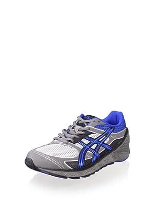 ASICS Men's Gel-Hikari Sneaker (Silver/Royal/Black)