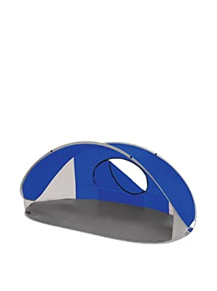 Picnic Time Manta Portable Pop-Up Sun/Wind Shelter (Blue)