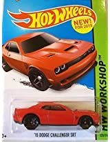 HOT WHEELS 15 RED DODGE CHALLENGER SRT HELLCAT EDITION DIE-CAST