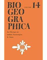 Zur Ökologie der andinen Paramoregion (Biogeographica)