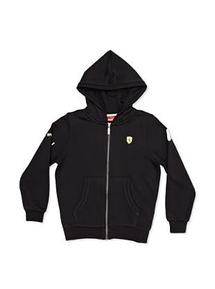 Ferrari Chaqueta Hooded (Negro)