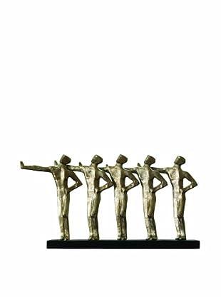 Global Views Chorus Line of Push Men