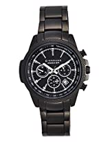 Giordano Chronograph Black Dial Men's Watch - P185-22