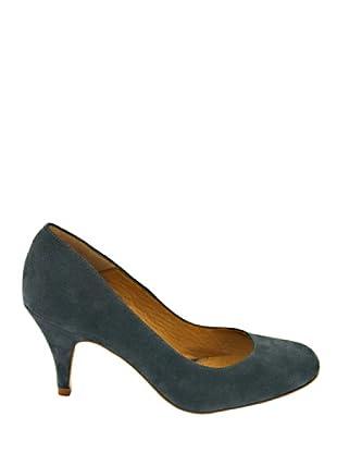 Eye Shoes Zapatos Tacón (Verde Botella)