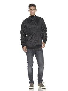 ZAK Men's Pullover Windbreaker (Black)