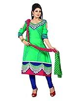 Cenizas embroidered Semi Stich Salwar Suit Duptta ( FSHN 554)