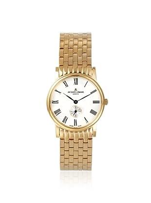 Jacques Lemans Women's GU115R Grand Classique Gold/White Watch