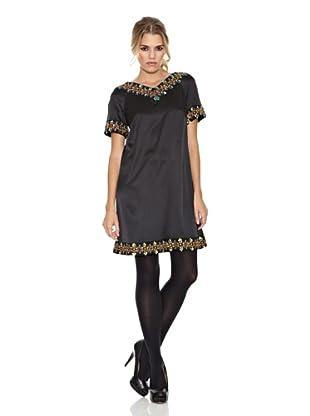 Monoplaza Vestido Venecia (Negro)