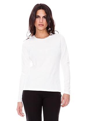 Steilmann Camiseta Brillo Cuello (blanco)