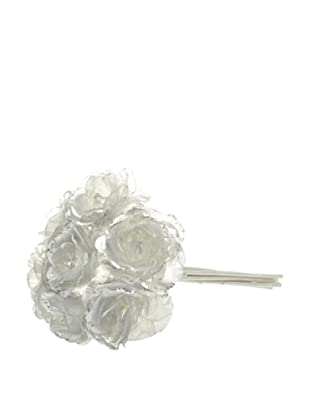 Jolipa Ramo de 7 Rosas Mini Plata