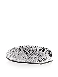 Lunares Clam Salad Plate (Silver)