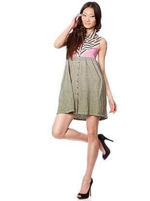 Custo Vestido Eijo (Gris / Rosa)