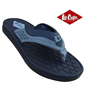 Lee Cooper Men's Slipper 4529-BlackGrey