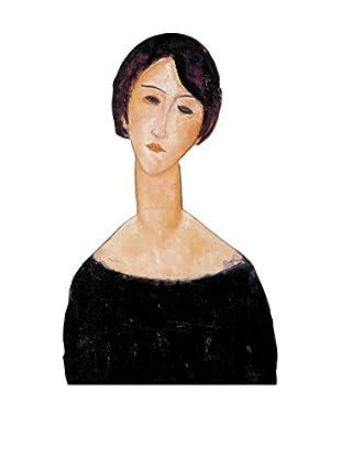 ARTOPWEB Wandbild Modigliani Woman In Black