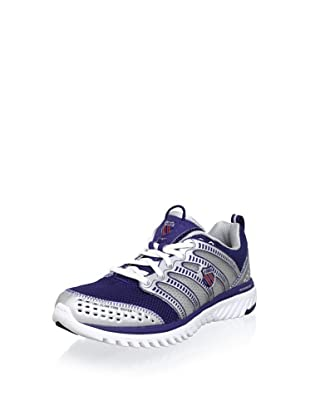 K-SWISS Men's Blade-Light Running Shoe (Blue Print/Red/Silver)