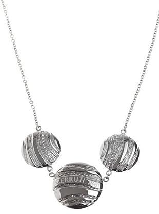 Cerruti Collar R41141Z Circonita Acero y Plata