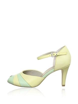 Caprice  Zapatos Peep Toe Ana (Amarillo)