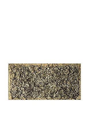 Artopweb Panel Decorativo Pollock One Number 31, 1950 - 50x100 cm Bordo Nero