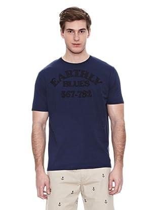 Springfield Camiseta E2 Patch Melange (Azul)
