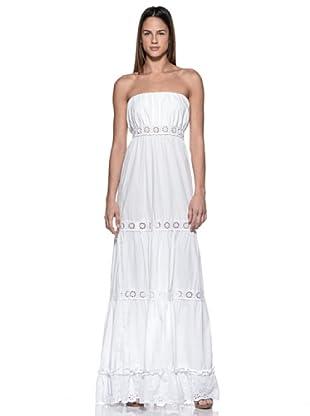 Crema Vestido Hippie (Blanco)