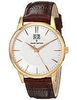 Claude Bernard Analogue White Dial Men's Watch - 63003 37R AIR