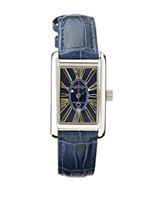 Ritmo Mundo Men's Mini Data Blue Stainless Steel Watch