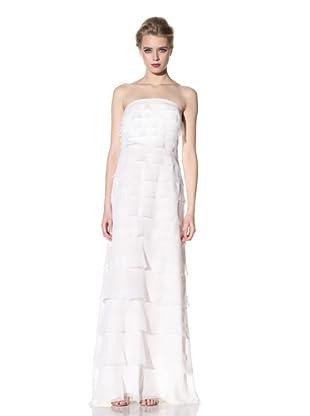 ADAM by Adam Lippes Women's Long Tiered Dress (White)