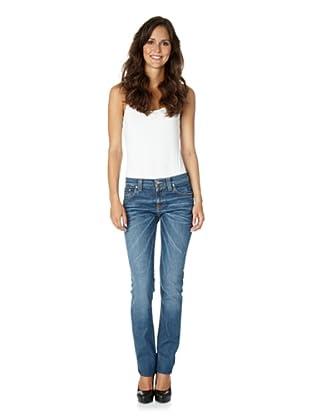 Nudie Jeans Co Jeans Tube Kelly Dark Used Denim (Denim)