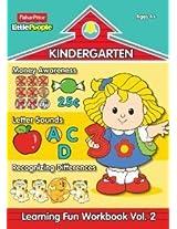 Fisher-Price Little People Kindergarten Learning Fun Workbook Volume 2