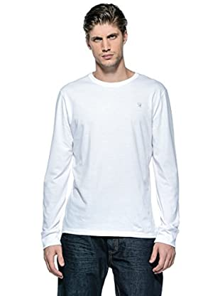 Diesel Camiseta Manga Larga T-Aldebarano-S (Blanco)
