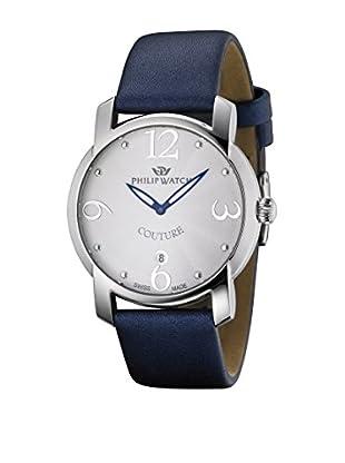 Philip Watch Quarzuhr Couture blau 38  mm
