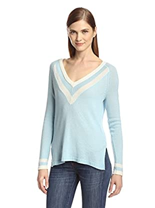 Cullen Women's Tipped V-Neck Sweater