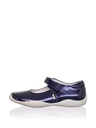 Venettini Kid's Rubi Shoe (Toddler/Little Kid) (Mid Blue Patent)
