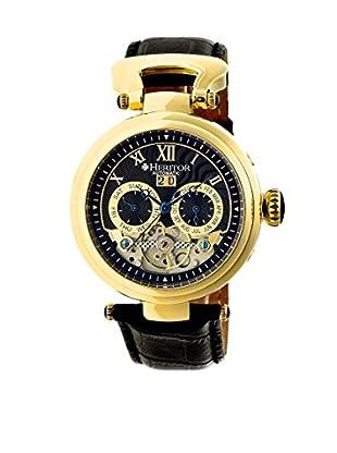 Heritor Automatic Uhr Ganzi Herhr3304 schwarz 48  mm