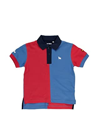 Toro Polo Junior Bicolor (Jeans / Coral)