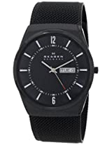 Skagen Aktiv Analog Black Dial Men's Watch - SKW6006