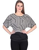 Rute Women's Shirt (TX_0401_3T_0024_Black_XXXX-Large)