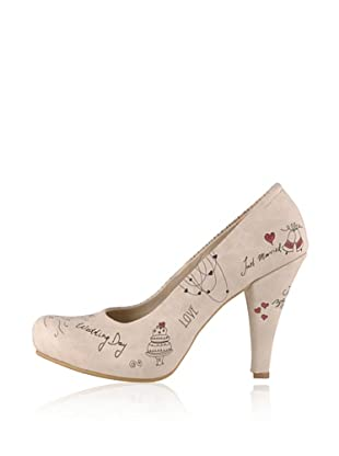 Dogo High Heel Just Married (Creme)