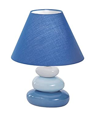 Evergreen Lights Tischlampe blau