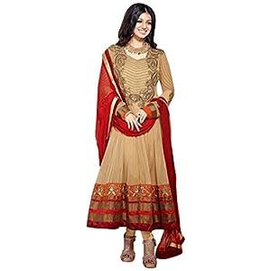 Ayesha Takia Ankle Length Golden Anarkali Suit